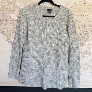 🤎 Rue21 gray knit sweater